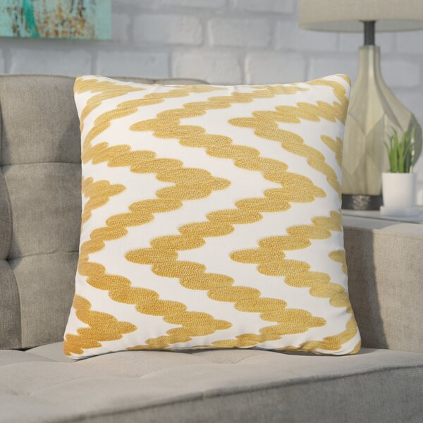 Hambrick 100% Cotton Throw Pillow by Mercury Row